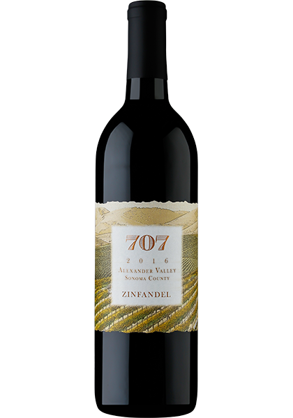 Picture of 707 Sonoma County Zinfandel